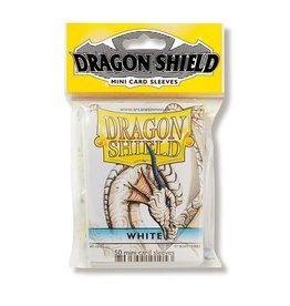 Dragon Shield Mini Sleeves - White (50 ct. in bag)