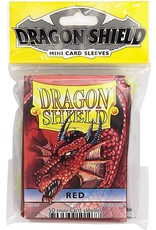 Dragon Shield Mini Sleeves - Red (50 ct. in bag)