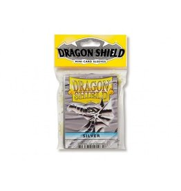 Dragon Shield Mini Sleeves - Silver (50 ct. in bag)
