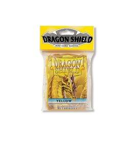 Dragon Shield Mini Sleeves - Yellow (50 ct. in bag)