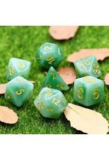 Dice Set - Jade Green