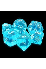 Dice Set - Azure gems
