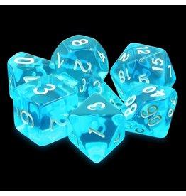 Dice Set - Azure gems