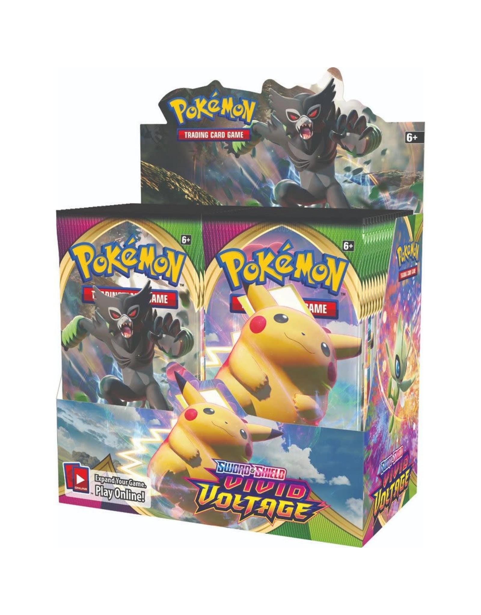 Pokemon Company Pokémon Sword & Shield 4: Vivid Voltage - Booster