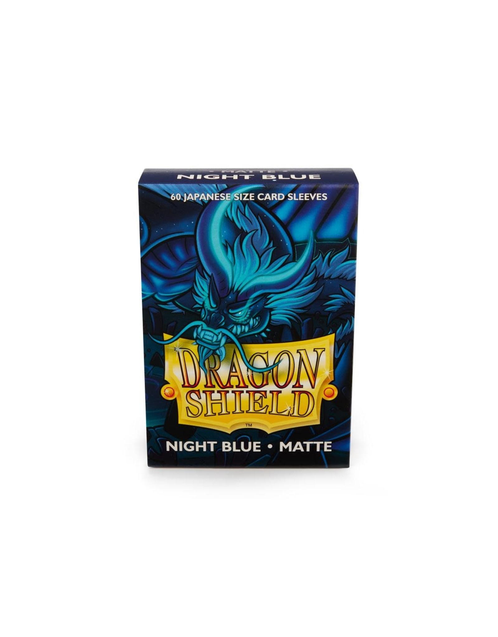 DRAGON SHIELD MINI SLEEVES: Matte Night Blue