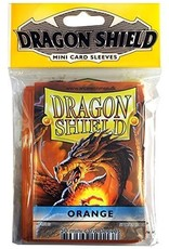 Dragon Shield Mini Sleeves - Orange (50 ct. in bag)