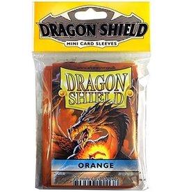 Dragon Shield Mini Sleeves - Orange (50 ct. in bag)
