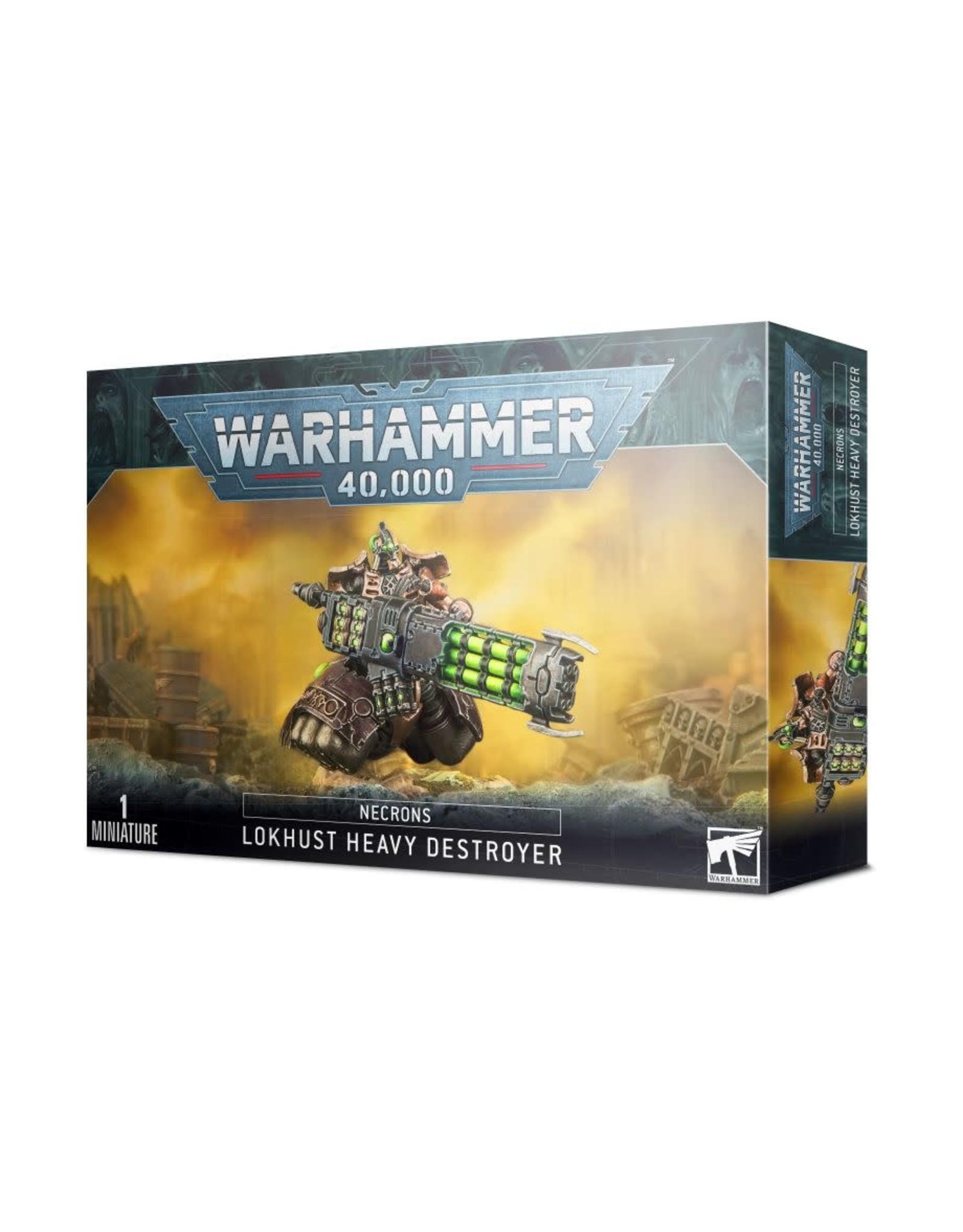 Games-Workshop Necrons Lokhusts Heavy Destroyer