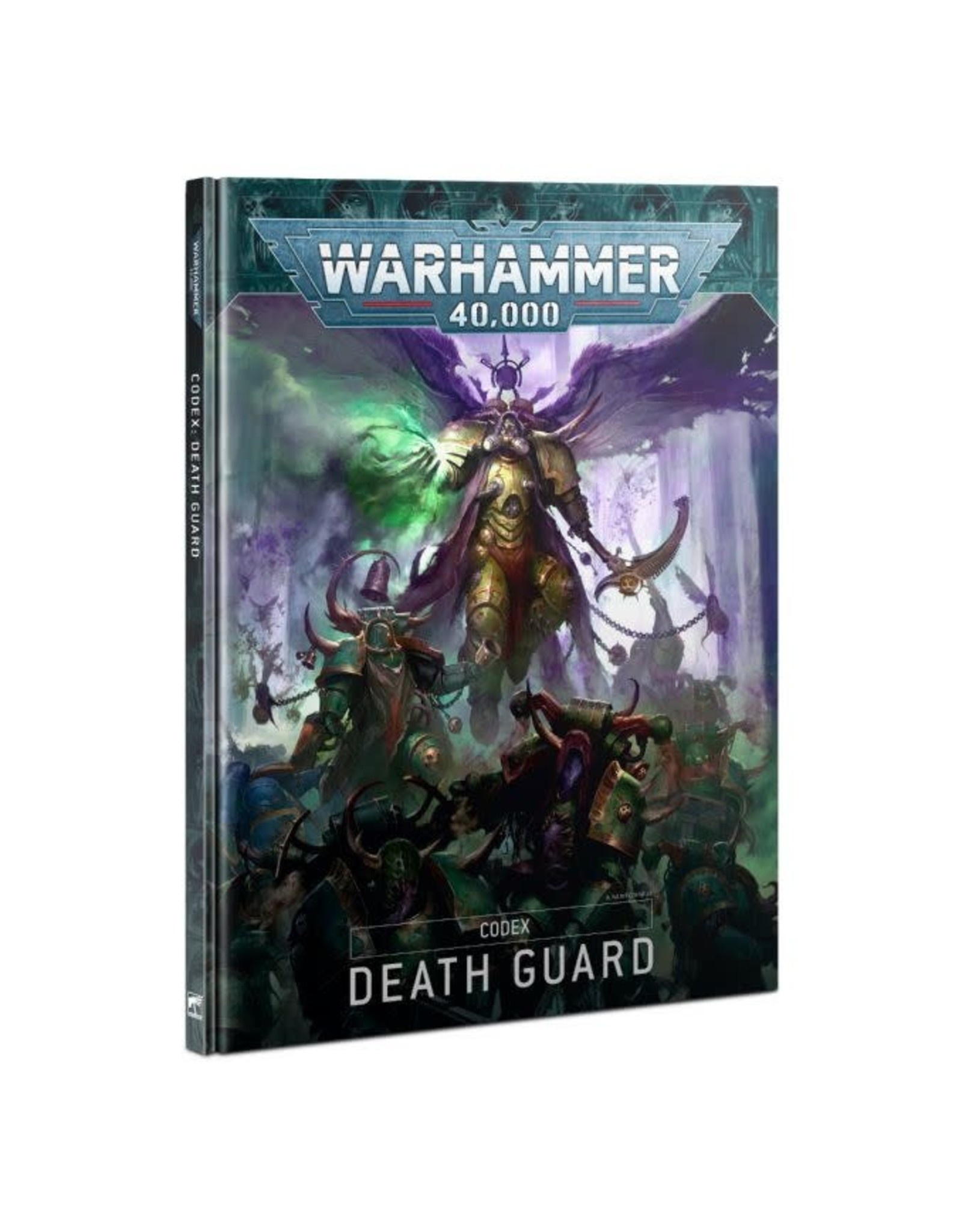 Games-Workshop CODEX: DEATH GUARD (HB) (ENGLISH) 9th