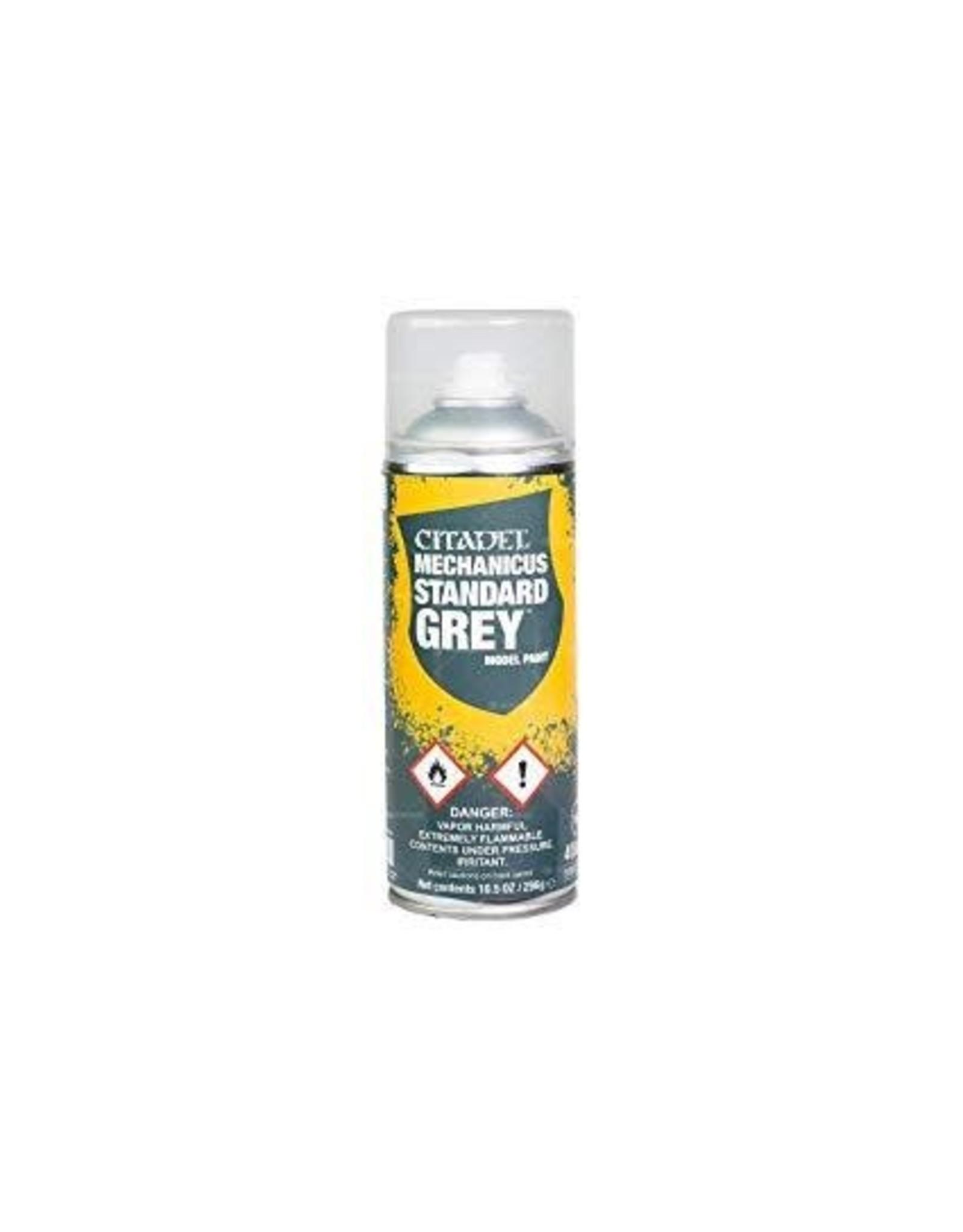 Games-Workshop Citadel Spray can Mechanicus Standard Grey 400ml