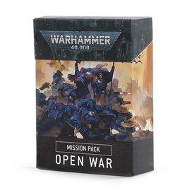 Games-Workshop WH40K: MISSION PACK: OPEN WAR (ENGLISH)