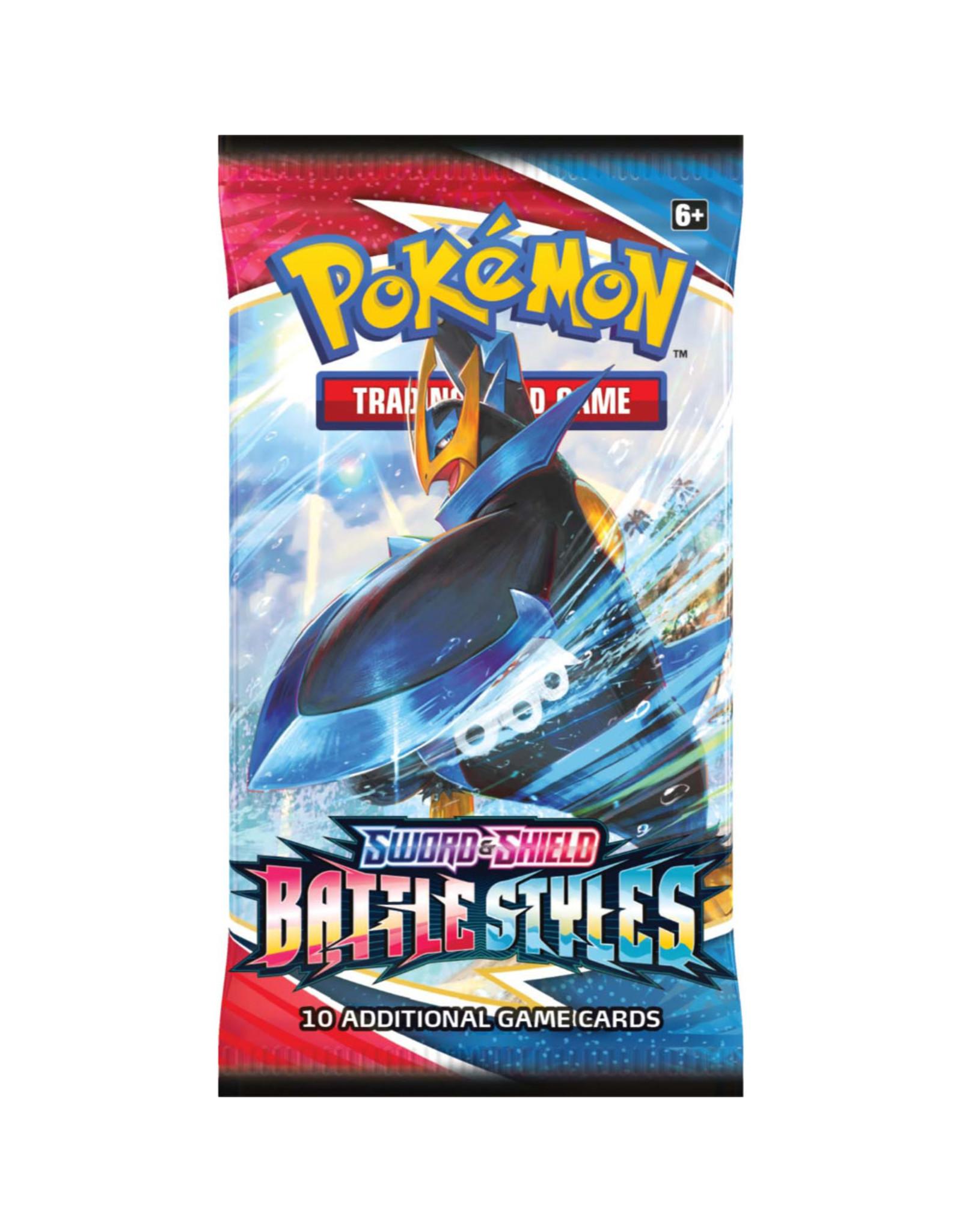 Pokémon Sword & Shield 5 Battle Styles: Booster