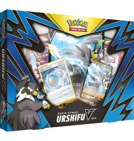 Pokémon Single Strike Urshifu V or Rapid Strike Urshifu V Box