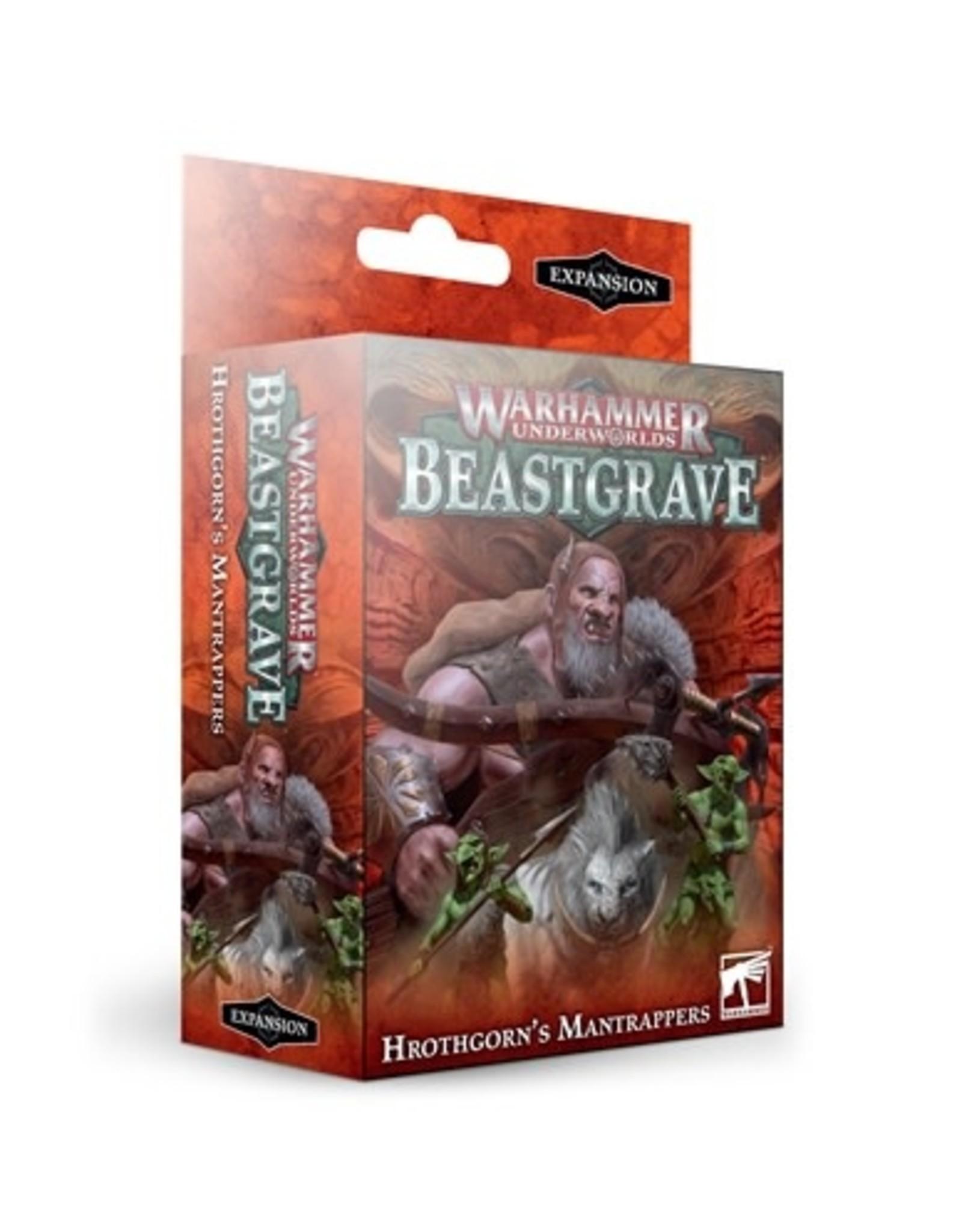 Games-Workshop Whu: Hrothgorn's Mantrappers (ENGLISH)