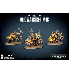 Games-Workshop ORK WARBIKER MOB