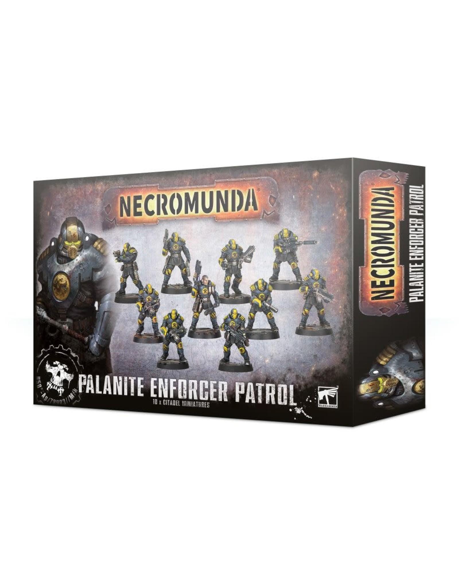 Games-Workshop NECROMUNDA : Palanite Enforcer Gang