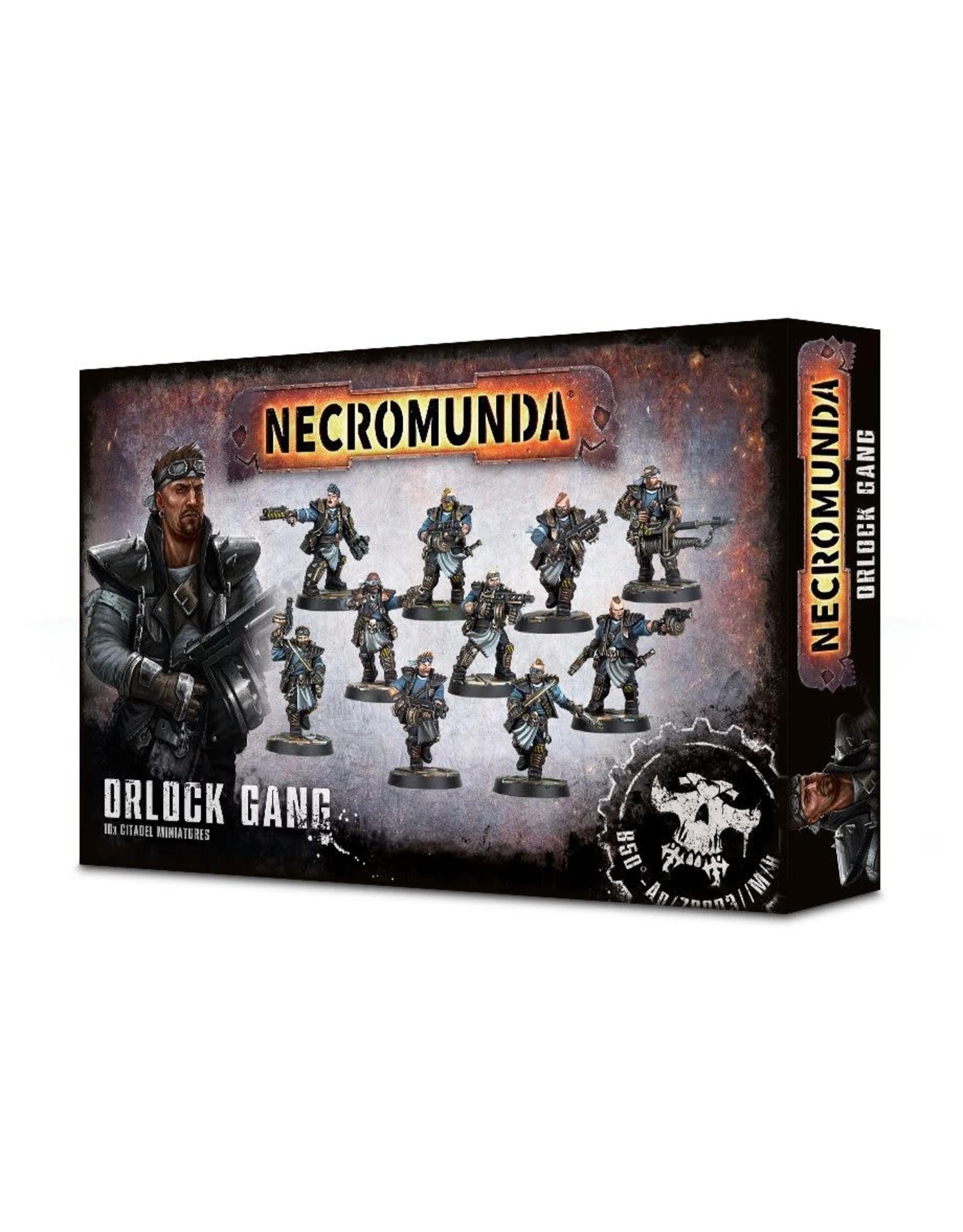 Games-Workshop NECROMUNDA : Orlock Gang