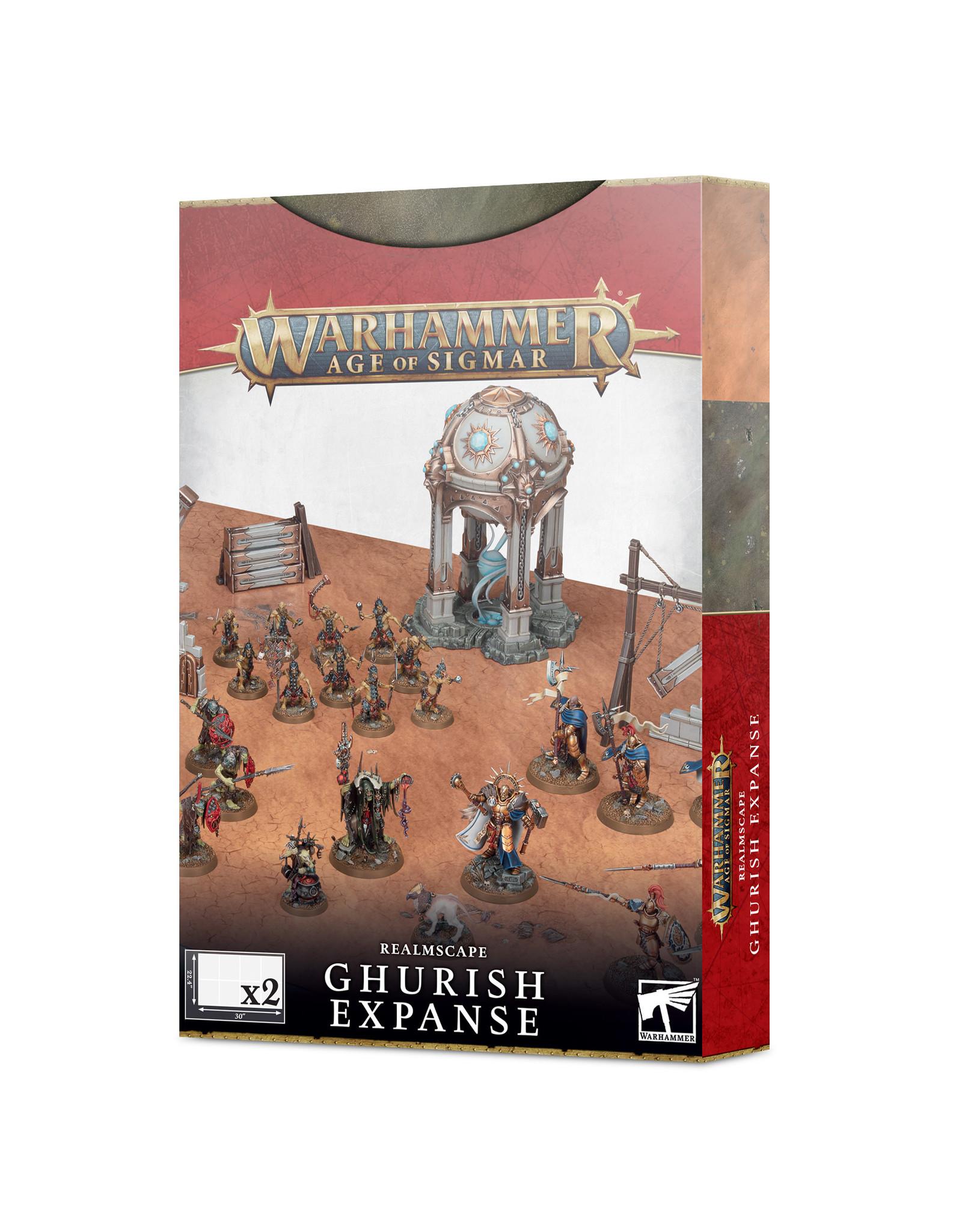 Games-Workshop AoS Realmscape: Ghurish Expanse