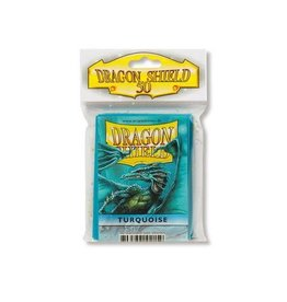 Dragon Shield Mini Sleeves: Turquoise (50 ct. in bag)
