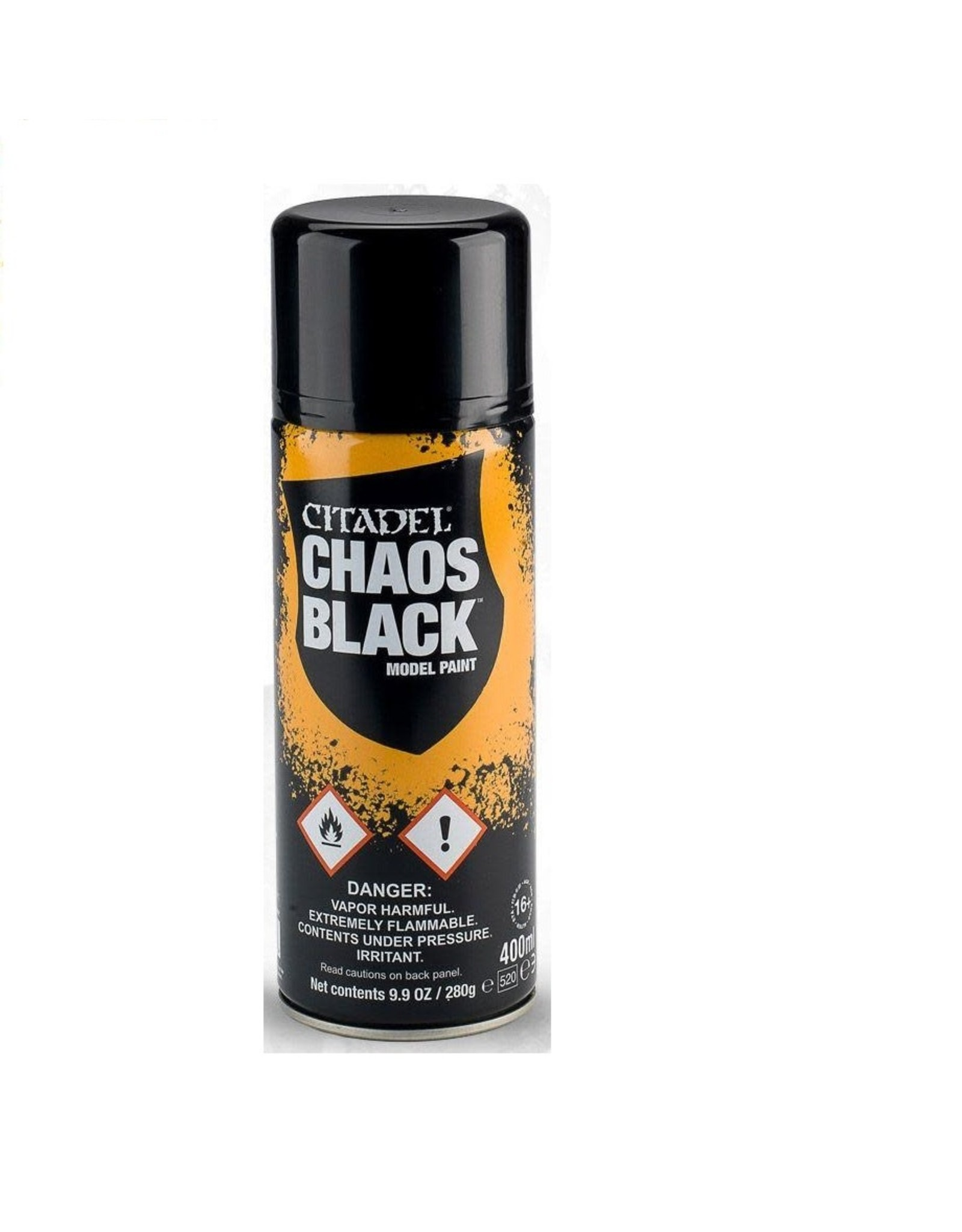 Games-Workshop Chaos Black Spray Can