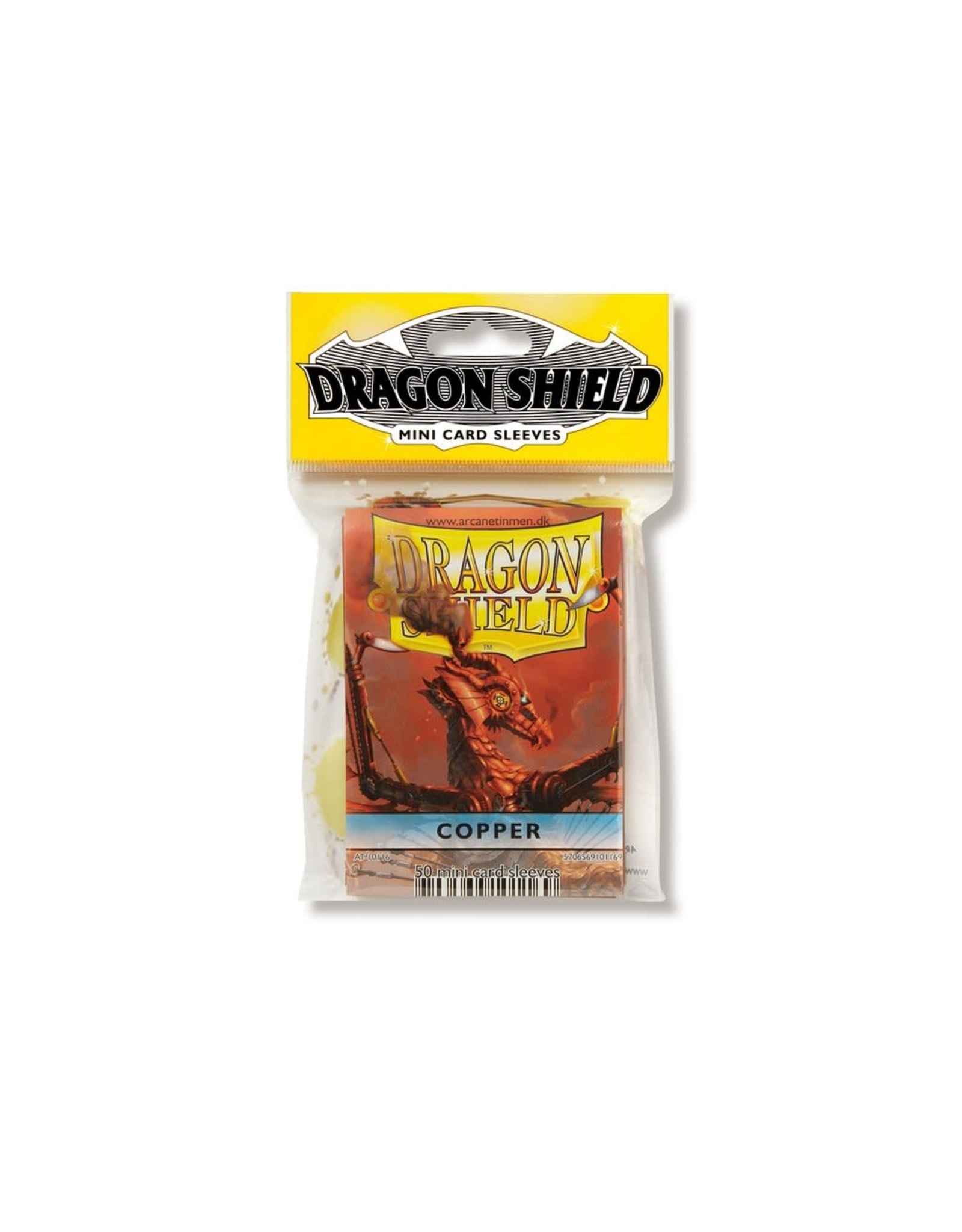 Dragon Shield Mini Sleeves - Copper (50 ct. in bag)