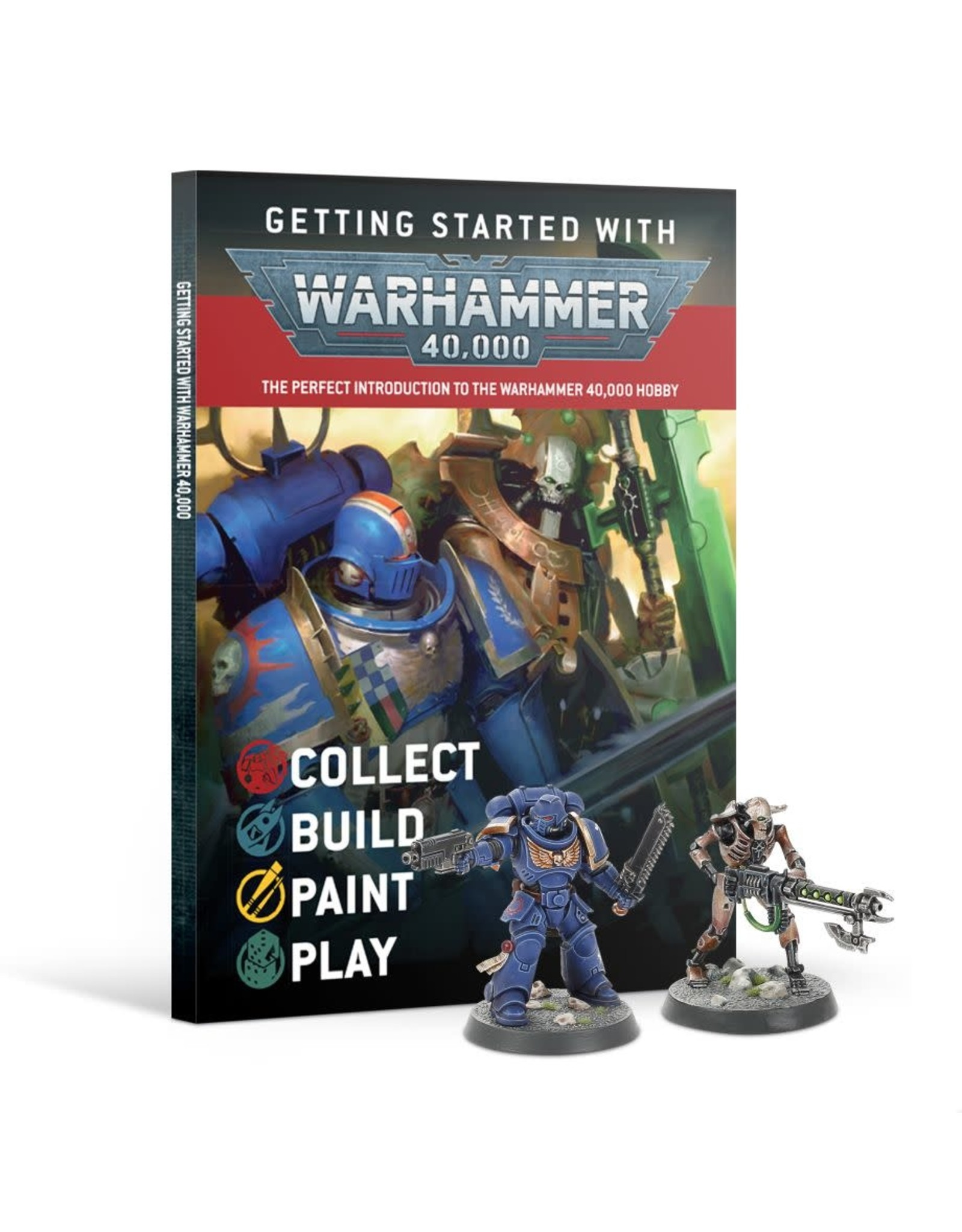 Games-Workshop Getting Started with Warhammer 40K (ENG)