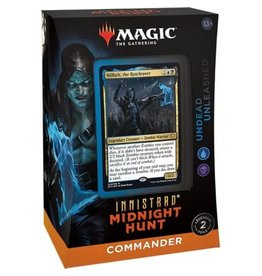 Wizards of the Coast Magic: The Gathering Innistrad: Midnight Hunt Commander Deck - Undead Unleash