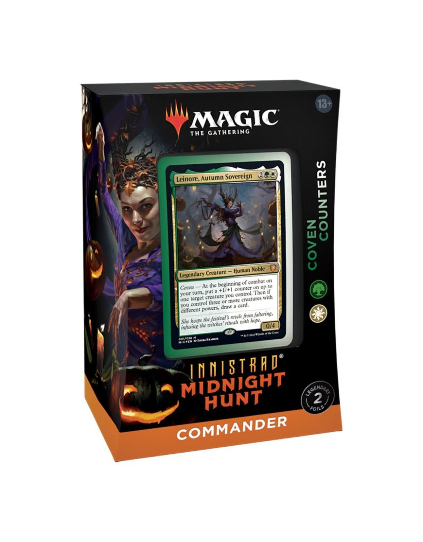 Wizards of the Coast Magic: The Gathering Innistrad: Midnight Hunt Commander Deck - Coven counters