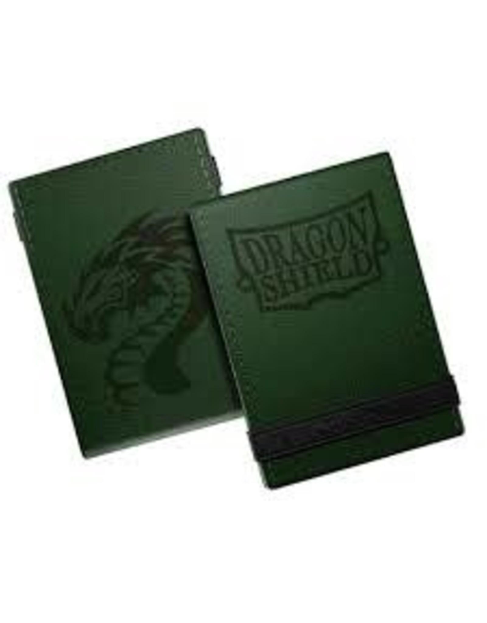 Dragon Shield Life Ledger – Forest Green