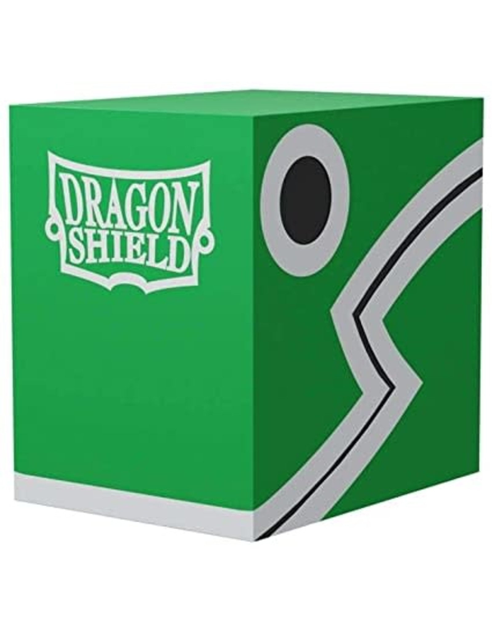 Dragon Shield Double Deck Shells (Green/Black )
