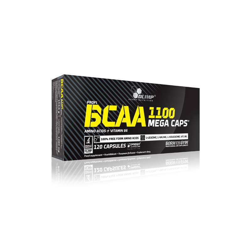 Olimp BCAA 1100 Mega Caps, 120 Caps