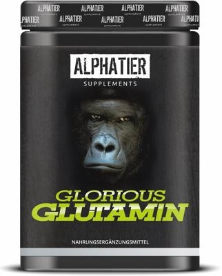Alphatier  Glorious Glutamin, 500 g Dose