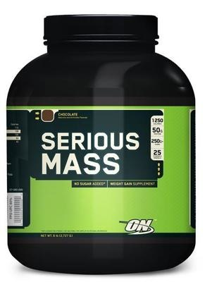 Optimum Nutrition  Serious Mass, 2727 g Dose
