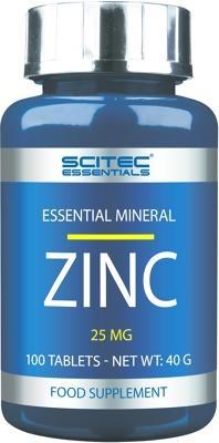 Essentials Zinc, 100 Tabletten Dose