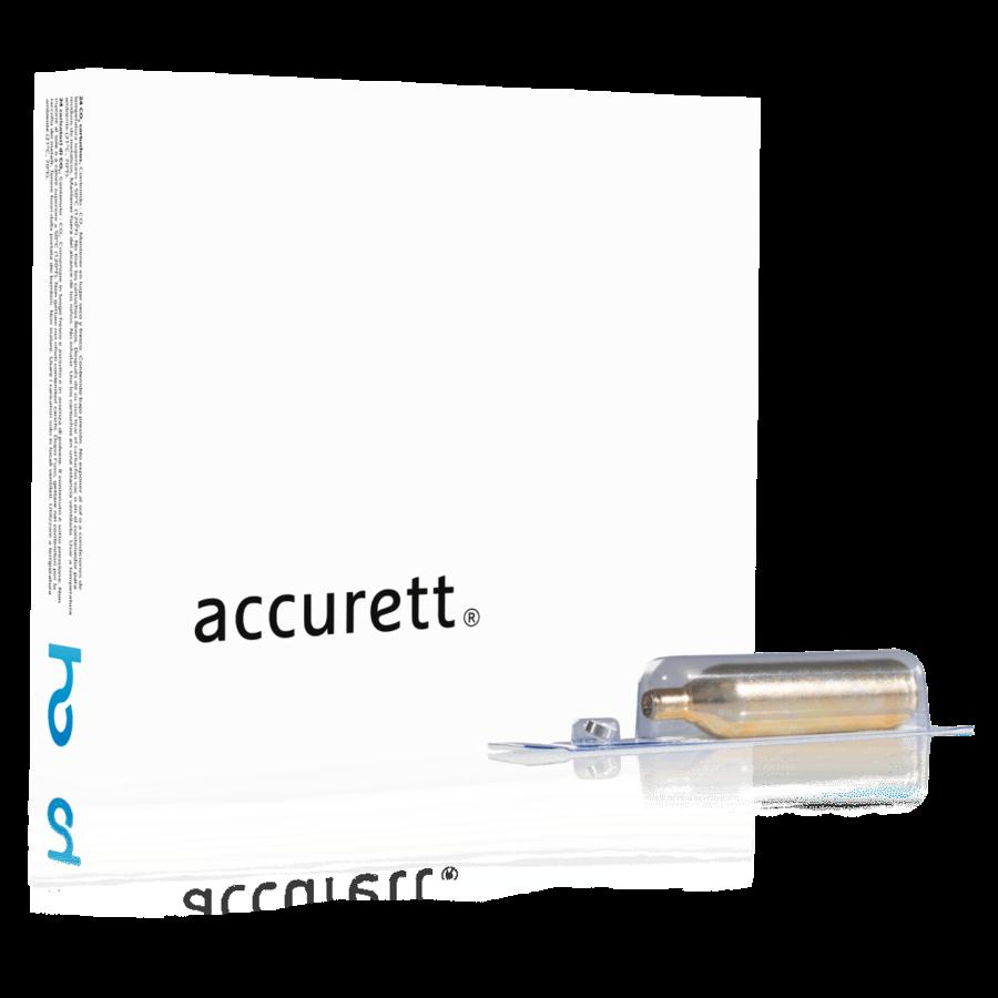 Accurett 8g CO2 cartridges:-1