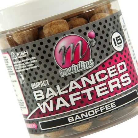 Mainline Baits High Impact Banoffee Wafters
