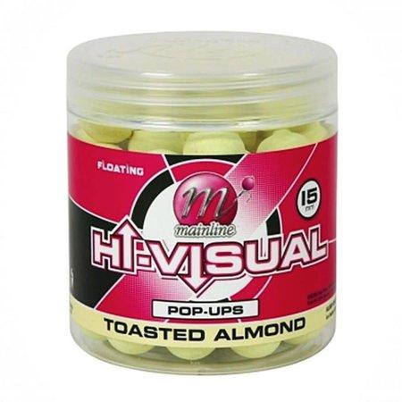 Mainline Baits Hi-Visual Toasted Almond Pop-Ups