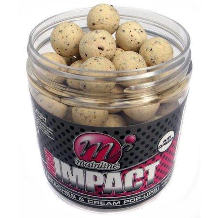 Mainline Baits High Impact Peaches & Cream Pop-Ups