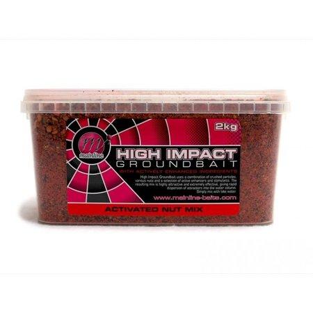 Mainline Baits High Impact Groundbait 2kg Activated Nut Mix