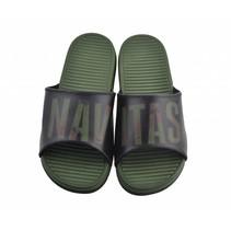 Sliders Black / Camo Size 8