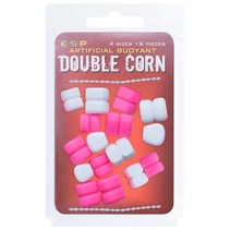 Artificial Buoyant Double Corn White / Pink