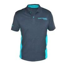 Grey/Aqua Polo Shirt