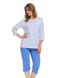 Doctor Nap Pyjama T-shirt & 3/4 broek Plus Size PB.9367