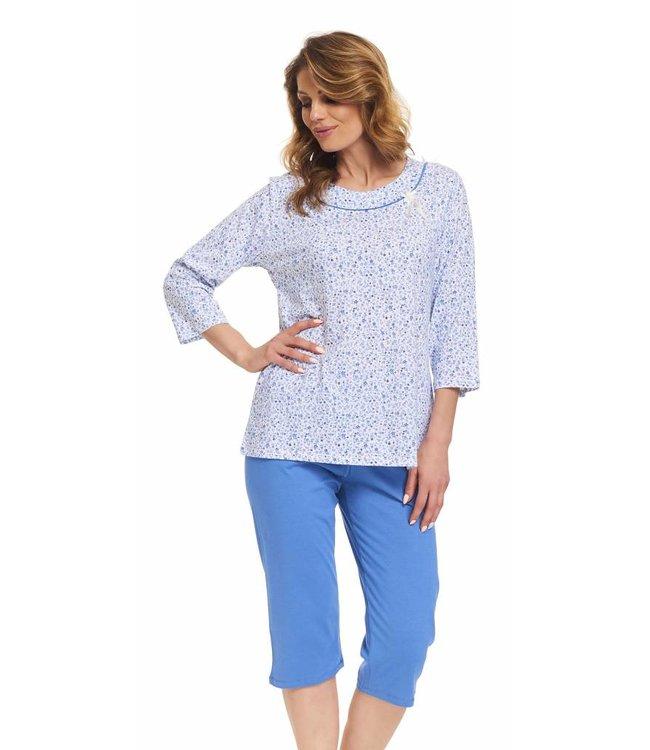 Doctor Nap Pyjama T-shirt & 3/4 broek Plus Size PB.9367