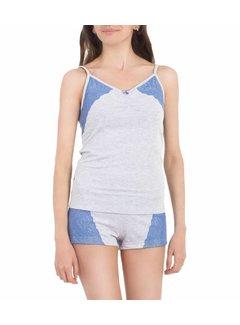 Serge Pyjama voor vrouwen 5091