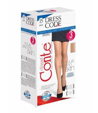 Conte Set van 3 Panty DRESS CODE 15