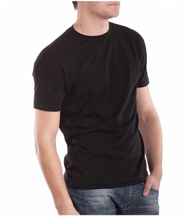 Serge T-shirt Zwart 7415/44