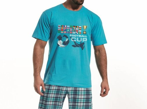 Cornette Pyjama voor papa Football 326/65