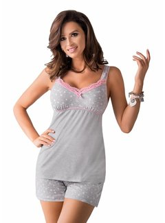 Donna Pyjama Top & Short PATI 1/2