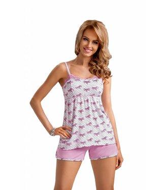 Donna Pyjama Top & Short Tifany